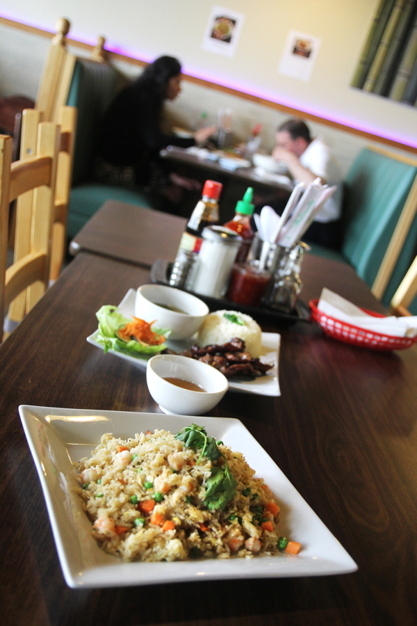 AUTHENTIC ACHIEVEMENT. Some of the house specialties at Noodle Teahouse, 2161 East Ridge Center.