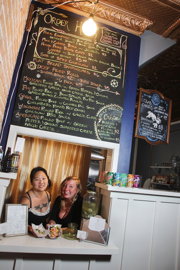 Stacy Gregerson and Tosha Larson, owners of Stacked Eatery